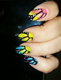 Nail art #nehasuradkar #MakeupSutra #nailsbyneha