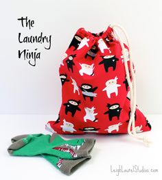 Make your own waterproof bag for wet and dirty clothes while your out and about - Never cut a puddle jumping trip short again because of wet socks!