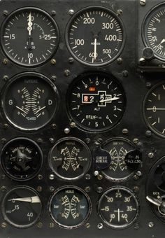 ill-mannered: // Flight Instruments //// gallery.oxcroft.com //