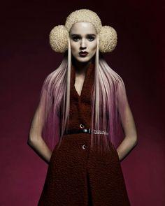 Johanna Cree Brown @ Trevor Sorbie Photo Paradiso Collection - Avant-Garde Hair Designs #hairdressing #avantgarde #peinado #vanguardia #inspiration #HandmadeBCNStudio #HairArt #Hair