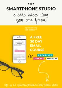 Smartphone Studio - Create videos using your smartphone | It can be hard to reach and connect with your target audience. We all know video is the way forward, but that doesn't mean that it's a path that comes with an instruction manual. Which is why I've created 8 FREE kickass lessons that'll get you creating videos using your smartphone. Click through to sign up today!