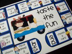 Taste the fun grammar game