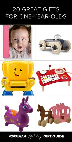 20 Great Gift Ideas For 1-Year-Olds