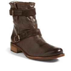 Paul Green New Ally Belted Moto Brown Boots. Get the must-have boots of this season! These Paul Green New Ally Belted Moto Brown Boots are a top 10 member favorite on Tradesy. Save on yours before they're sold out! Fab Shoes, Me Too Shoes, Cool Boots, Paul Green, Short Boots, Brown Boots, Knee High Boots, Leather Boots, Riding Boots