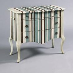 Artistic Expressions Collection introduces their one of the best Accent Chest in Blue and White Finish by Pulaski Furniture. The hand painte Hand Painted Furniture, Funky Furniture, Accent Furniture, Furniture Making, Furniture Ideas, Painted Dressers, Furniture Redo, Garden Furniture, Pulaski Furniture