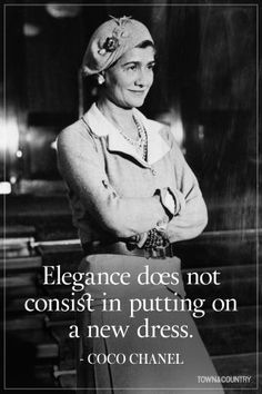 Coco Chanel famously lived her life according to her own rules. Her musings on elegance, love, and life are as timeless as her classic Chanel designs. Take a look at the founder of Chanel's most memorable, inspiring, and outspoken quotes here. Chanel 19, Coco Chanel Mode, Estilo Coco Chanel, Mademoiselle Coco Chanel, Coco Chanel Fashion, Coco Chanel Quotes, Chanel Brand, Coco Chanel Style, Carrie Bradshaw