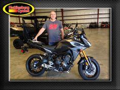 Thanks to Jason Duhe for getting a 2015 Yamaha FJ-09. @HattiesburgCycles
