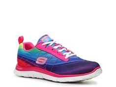 various colors 73079 7d651 ... Skechers Flex Appeal Pretty Please Sneaker - Womens DSW Shoe Warehouse    Eastwood Towne Center -  Nike Lunar Cross Element ...