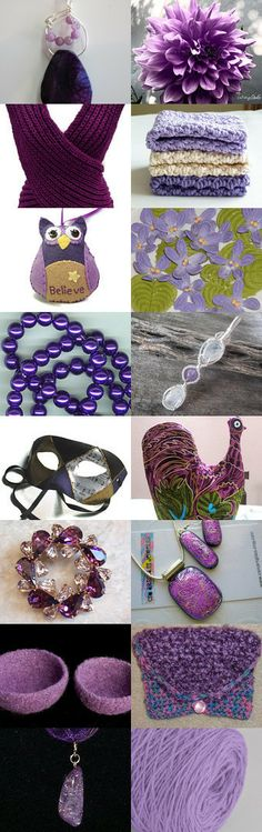 Purple Presents by Theodora on Etsy--Pinned with TreasuryPin.com   #PCFTeam