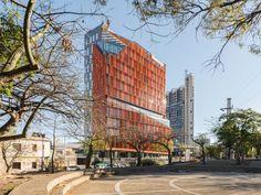 AFT arquitectos adds vibrancy to córdoba's skyline with orange office tower