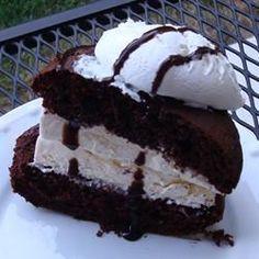 Easy Ice Cream Sandwiches - Allrecipes.com or use those oreo brownies