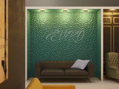 Crystal Декоративные панели серии Crystal –это панель из гипса с удивительным ярко выраженным рельефом в виде природных кристаллов. Которая своими формами будет прекрасным дополнением к дизайну таких помещений как рестораны, кафе, ночные клубы, а так же классические домашние решения.