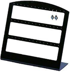 M /& M MM Bijoux en velours organisateur pr/ésentoir plateau support porte-anneaux boucles doreilles plaque rack Rouge