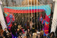 Inside the Museum of the City of NY last night for fashion party