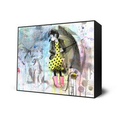 Jesus I need this. it is lovely My design inspiration: Rain Dog Mini Art Block on Fab.