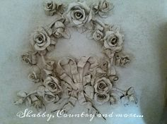 A gustavian wreath with an old patina
