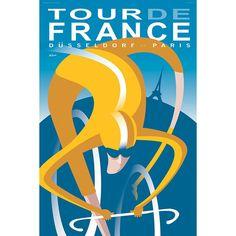 Tour de France 2017 | Cycling Art Print