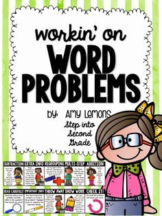 I've never really enjoyed teaching word problems . I mean, they can be so stinkin' difficult to get and let's face it, they just aren't fu...