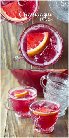 Easy and delicious New Years Eve Champagne Punch! This amazing champagne punch only has 5 ingredients, but tastes like a dream. So bright, sweet and bubbly (drunk party new years eve) New Years Eve Drinks, New Year's Eve Cocktails, New Years Eve Party Ideas Food, New Years Eve Food, New Years Eve Dinner, Champagne Punch Recipes, Cocktail Recipes, Holiday Drinks, Holiday Recipes