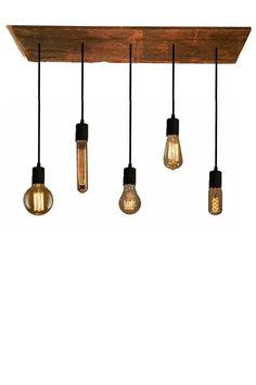 5 Bulb Reclaimed Wood Chandelier Pendant light Urban Chandelier Rustic lighting Modern Dining chandelier wedding Edison Bulb Ceiling Pendant