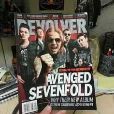 New Revolver out July 30th. AVENGED SEVENFOLD A7X