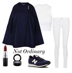 """Not Ordinary"" by noitsnata on Polyvore featuring Frame Denim, Topshop, New Balance, Ted Baker, MAC Cosmetics, women's clothing, women's fashion, women, female and woman"