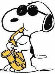 Snoopy saxo
