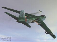 Marek Rys's Junkers Ju EF132 Luft Art Images