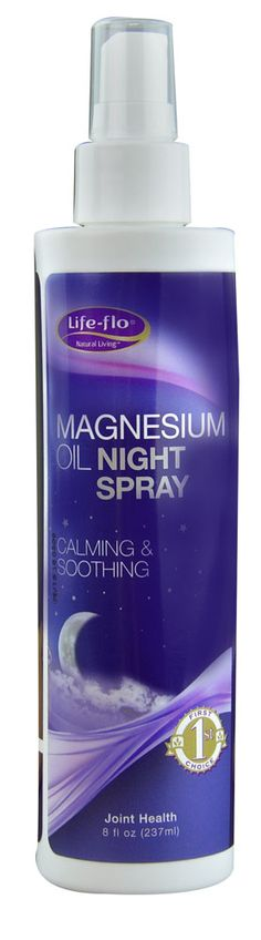 Life-Flo Magnesium Oil Night Spray....this stuff is AMAZING!! Helps you get some peaceful sleep AND helps your joints at the same time! I use it every night!!❤️