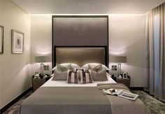One Hyde Park - bedroom design Comfy Bedroom, Dream Bedroom, Bedroom Decor, Bedroom Interiors, Bedroom Ideas, Style At Home, Contemporary Bedroom, Luxurious Bedrooms, Beautiful Bedrooms