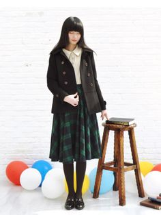 school girl a-line skirt