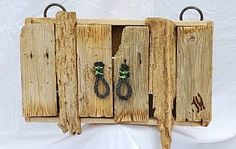 driftwood furniture cabinet