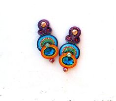 Hey, I found this really awesome Etsy listing at https://www.etsy.com/listing/261485410/long-clip-on-earrings-unique-handmade