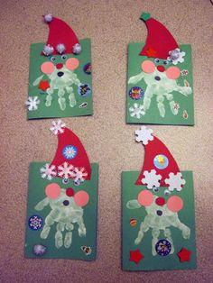 Lavoretti di Natale per l'asilo nido (Foto) | Mamma pourfemme