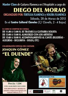 "MASTER CLASS ""Diego del Morao"" Fundación Guitarra Flamenca. www.fundacionguitarraflamenca.com"