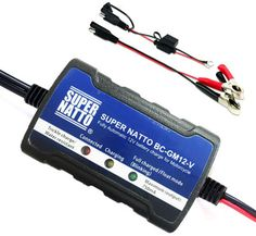 Supernatto 12v Atv Smart Battery Trickle Charger Accessories Online Truck Central