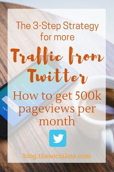 What if there was an easy to follow, proven process for massive success on Twitter? What if you could grow an audience and get awesome traffic to your content just like one of the major social media influencers? Twitter marketing strategy, Twitter growth, Twitter strategy, Twitter tips, traffic from Twitter #twitter #twittermarketing #twittertips #twitterstrategy