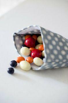 Cotton Reusable Snack Bags Tutorial