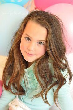 Children Photography ~ Balloon Girl