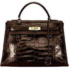 hermes vintage alligator kelly bag - just dreaming