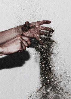 #black #glitter