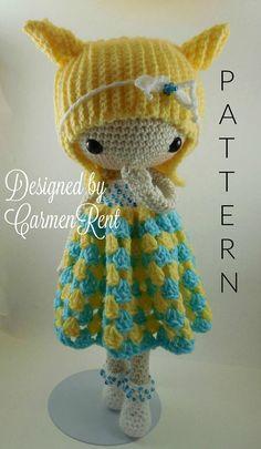 Nami- Amigurumi Doll Crochet Pattern PDF