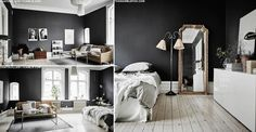 How To Work Black Walls | sheerluxe.com