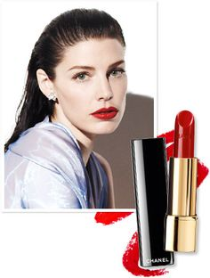 Found It! Jessica Pare's Bold Red Lipstick from Her InStyle Photo Shoot