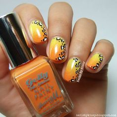 Nails By Kizzy: Summer Leopard Print Nails