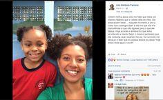 'Linda igual você': professora faz mesmo penteado afro que aluna