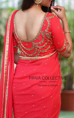 PV 3539 : Pink and PinkPrice : Rs 5700Shine bright this diwali in our festive collection. An out and out pink georgette saree 11 October 2017