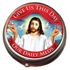 Jesus Pill Box!