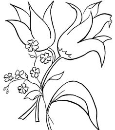 Flower Coloring, Flowers Coloring Pages Pics: Flowers Coloring Pages Pics