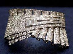 Ruffled edge..Martin Katz million dollar diamond bracelet...